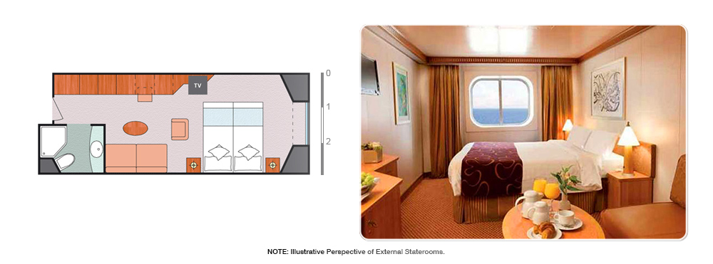 EXTERNAL CABIN/STATEROOM